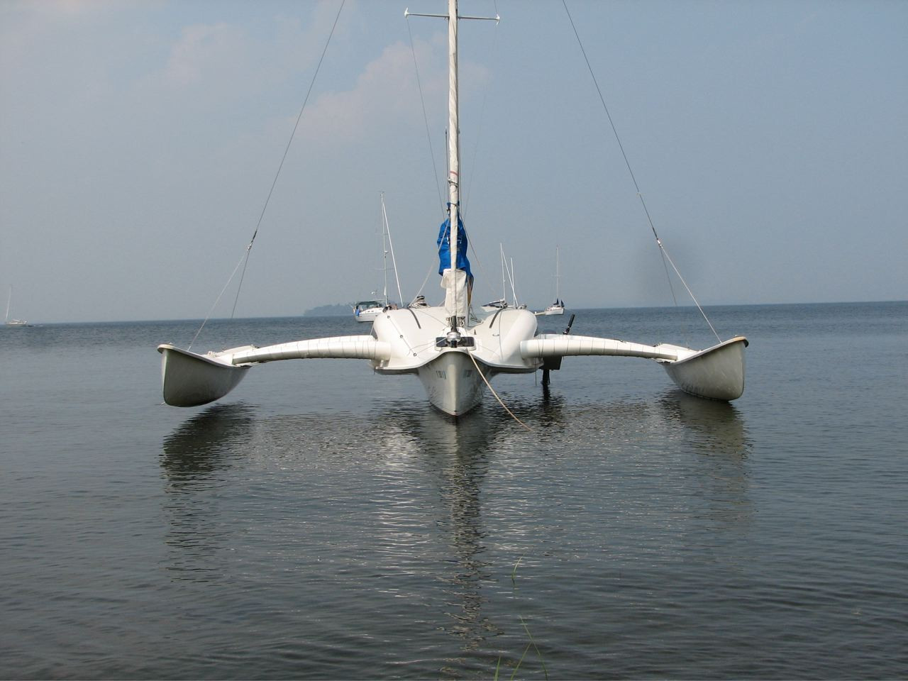 Learn Tremolino trimaran plans for sale ~ BOAT PLAN