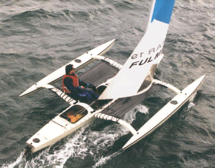 The Production Fulmar Trimaran & Homebuilt Tamanu | Small Trimarans