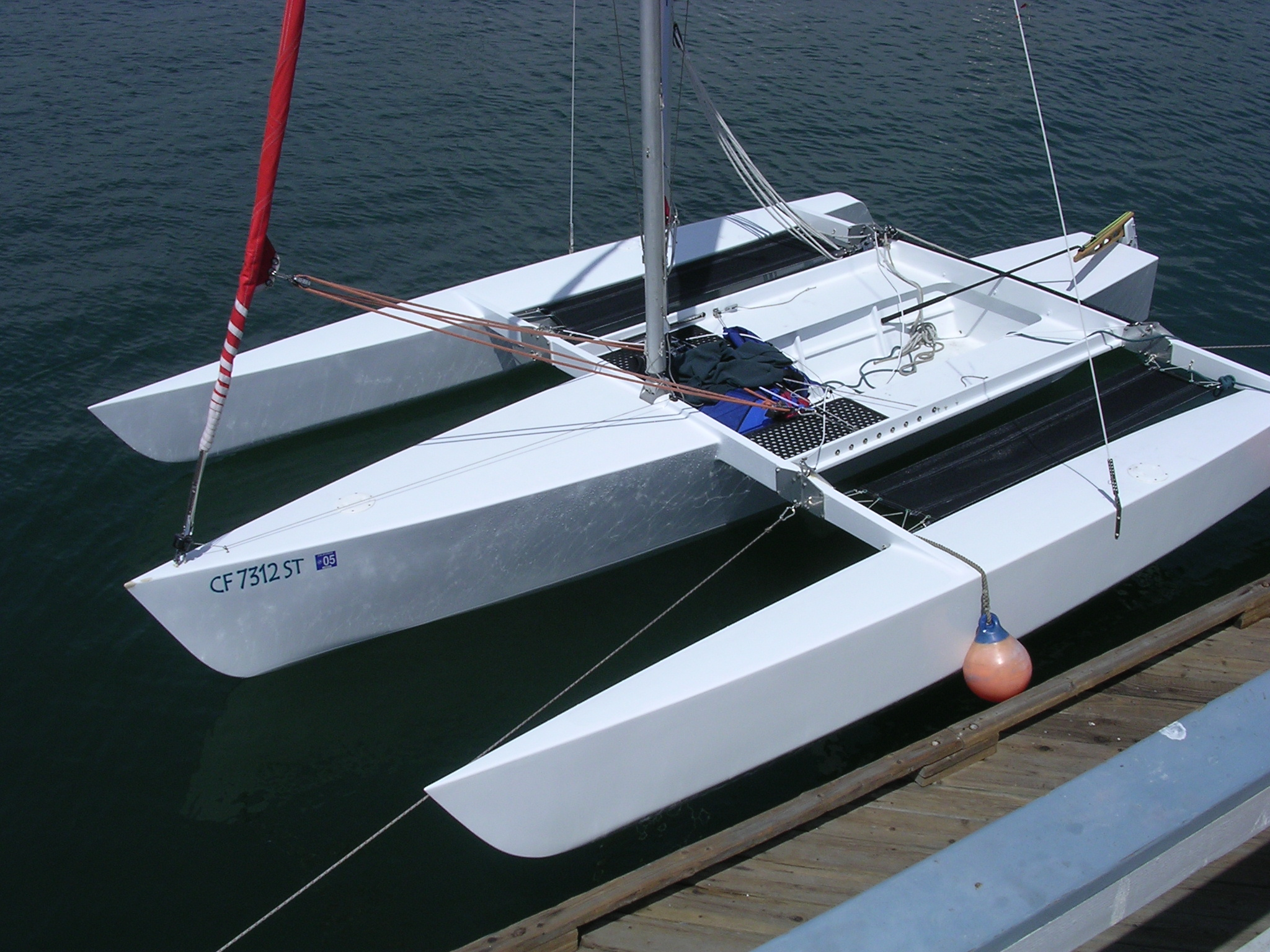 The Cross 18 Trimaran: An Interview with Jeff Turner ...