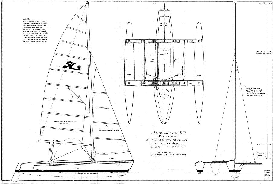 Share Trimaran design plans ~ Plans for boat
