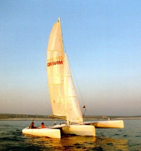 Dazcat 8RT Micro Racing Trimaran