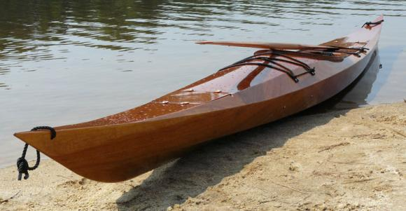 And below is a picture of a model they call the Chesapeake 17 kayak ...