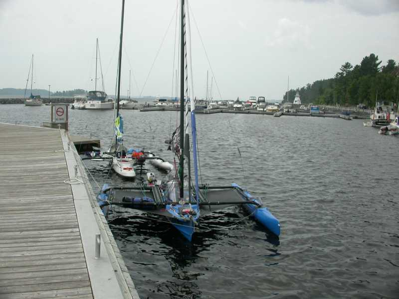 4 Guys, 3 Windrider Trimarans, and a Camp-Cruise In the North