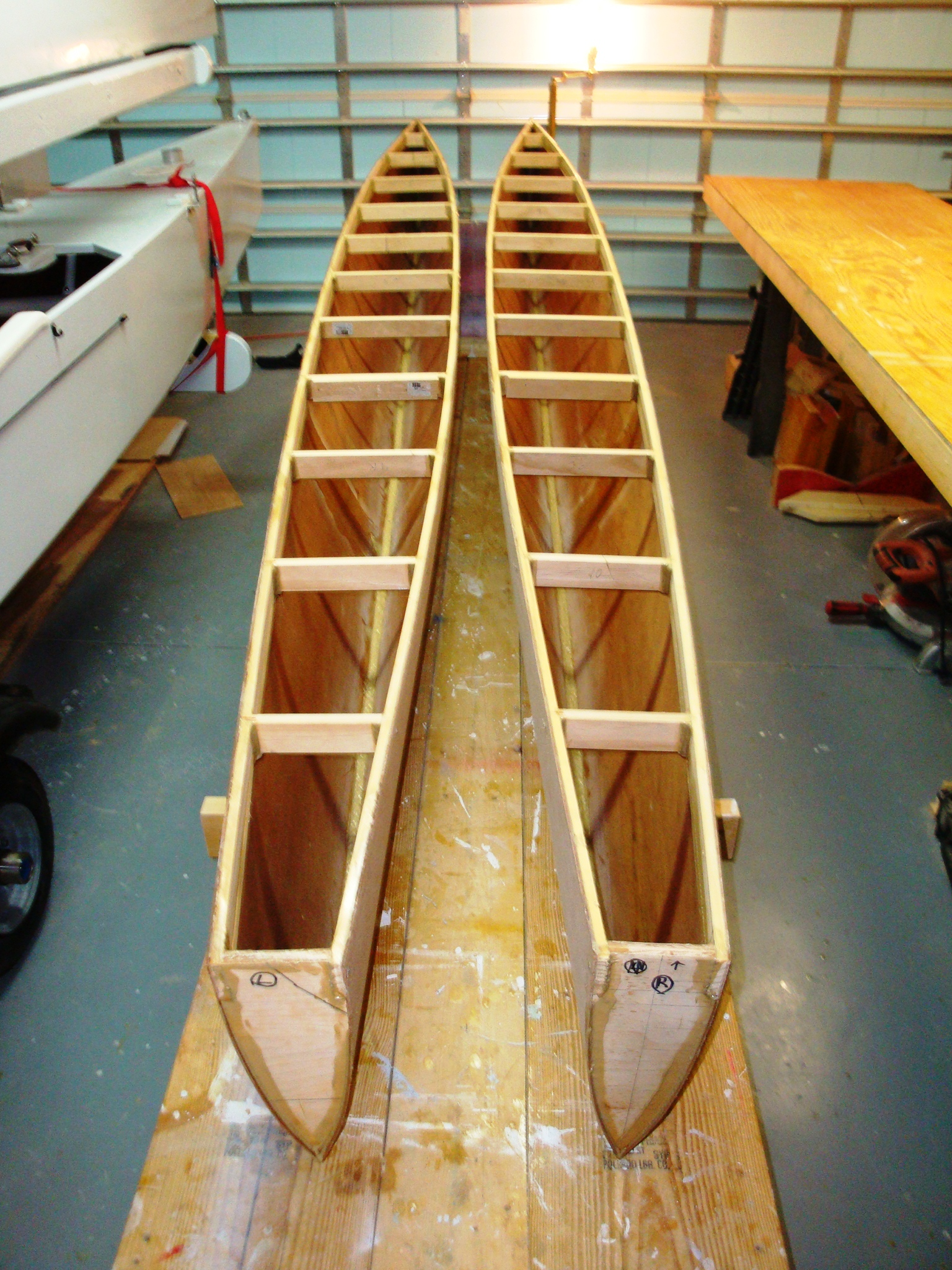 Do It Yourself Building Plans: Do-It-Yourself Small Trimarans