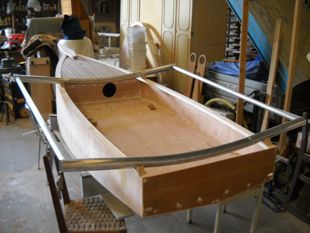 ... plans can obtain them for free by contacting boat designer Jacopo