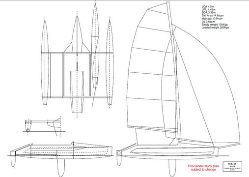 The small trimaran thread page 3 Richard woods designs