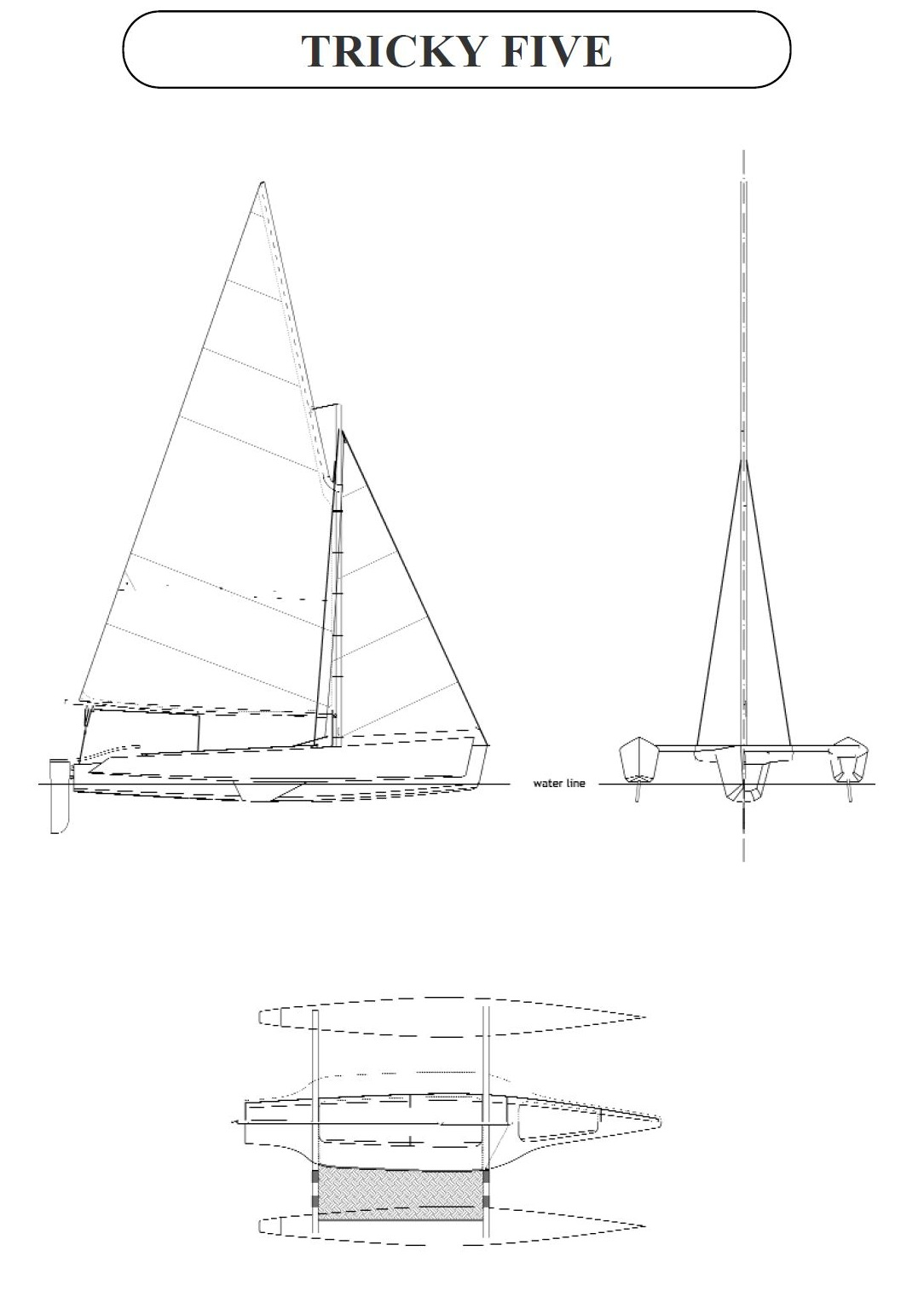 2 New Trimaran Building Plans at Duckworks | Small Trimarans