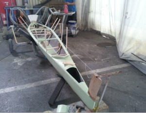 sprint-canoe-main-hull-for-trimaran