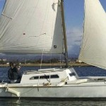 old-piver-nugget-trimaran-under-sail-2