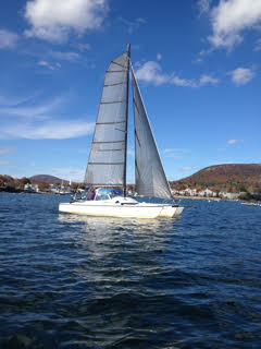 Lovely Farrier Trimaran in Maine (for Sale) | Small Trimarans