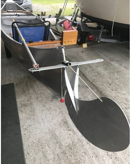 17-Foot Grumman Sailing Canoe | Small Trimarans